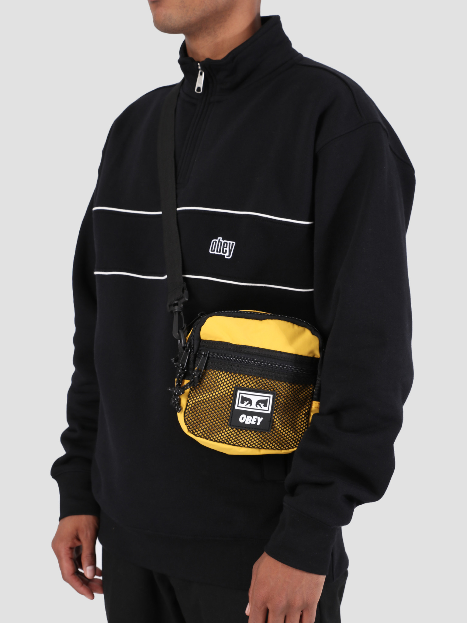 Obey Obey Conditions Traveler Bag YEL 100010109