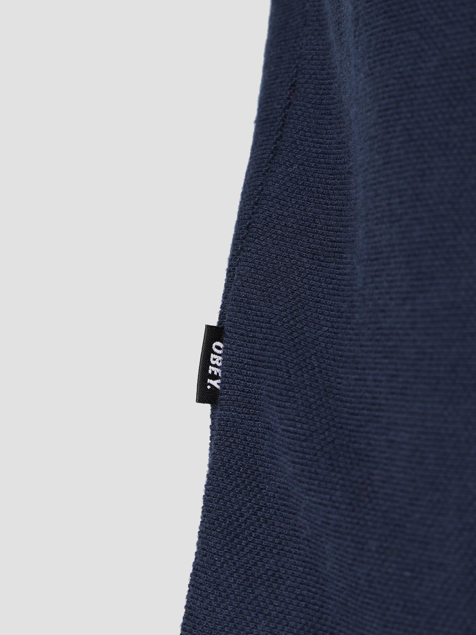 Obey Obey Jinx Zip Polo Longsleeve NVM 131040018