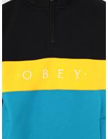 Obey Obey Chelsea Mock Neck Zip BKM 111620045