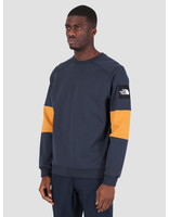 The North Face The North Face Fine Crew Sweat Lt Urbnnvy Citrny T93BNYLMT