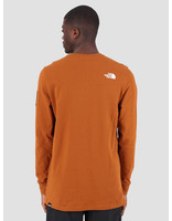 The North Face The North Face Fine 2 Longsleeve Caramel Cafe T93BPHUBT