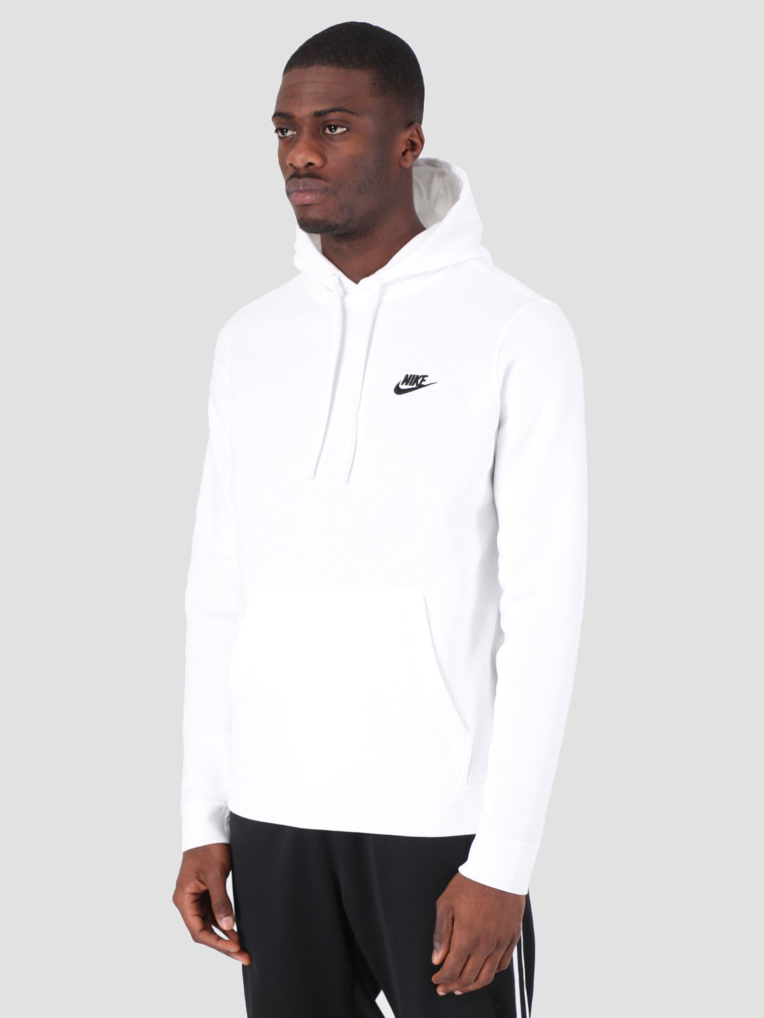 Nike Nike NSW Hoodie White White Black 804346-100