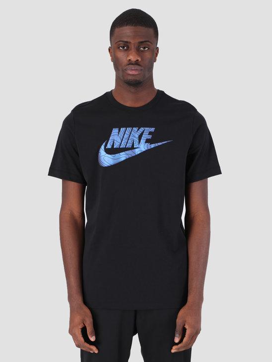 Nike T-Shirt IR AM 720 Black Sapphire BQ9798-011
