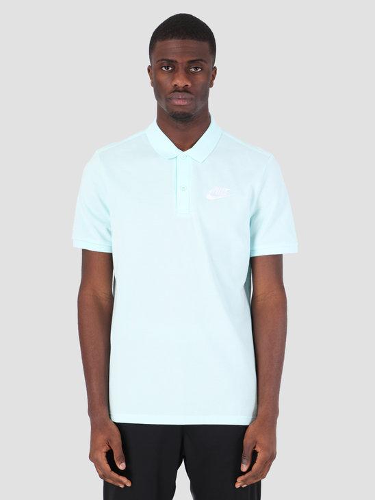 Nike Sportswear Polo Teal Tint White 909746-337