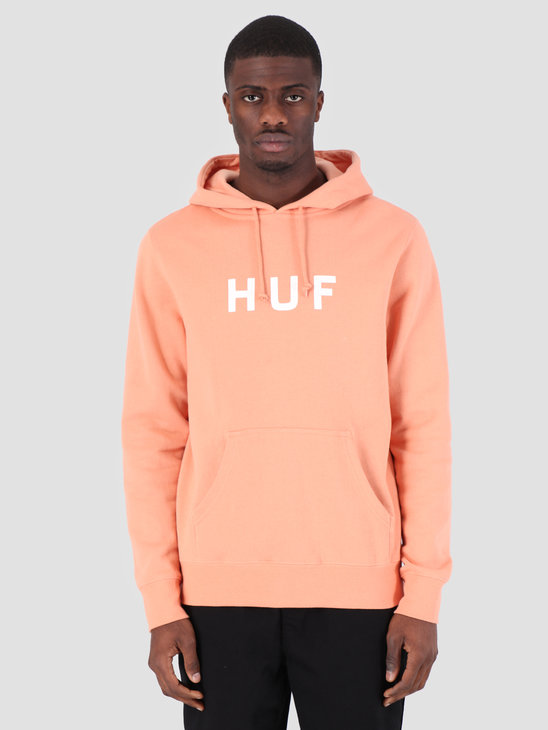 HUF Essentials OG Logo Hoodie Canyon Sunset PF00099