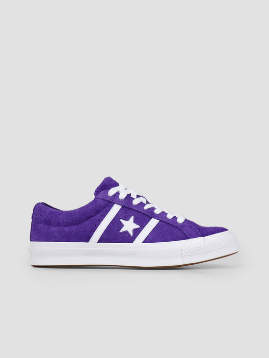 Converse One Star Academy Ox Court Purple White 164391C