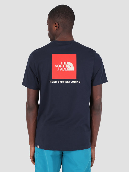 The North Face Red Box T-Shirt Urbnavy Fieryrd T92TX2BER