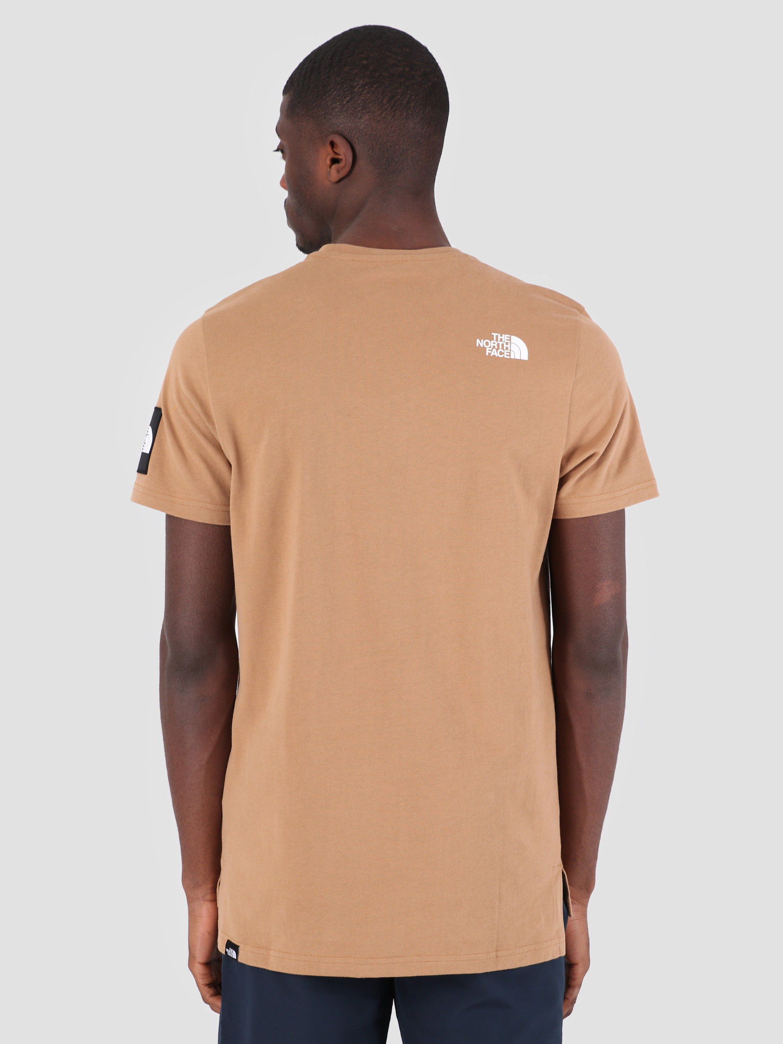 The North Face The North Face Fine 2 T-Shirt Cargo Khaki T93BP7T5C