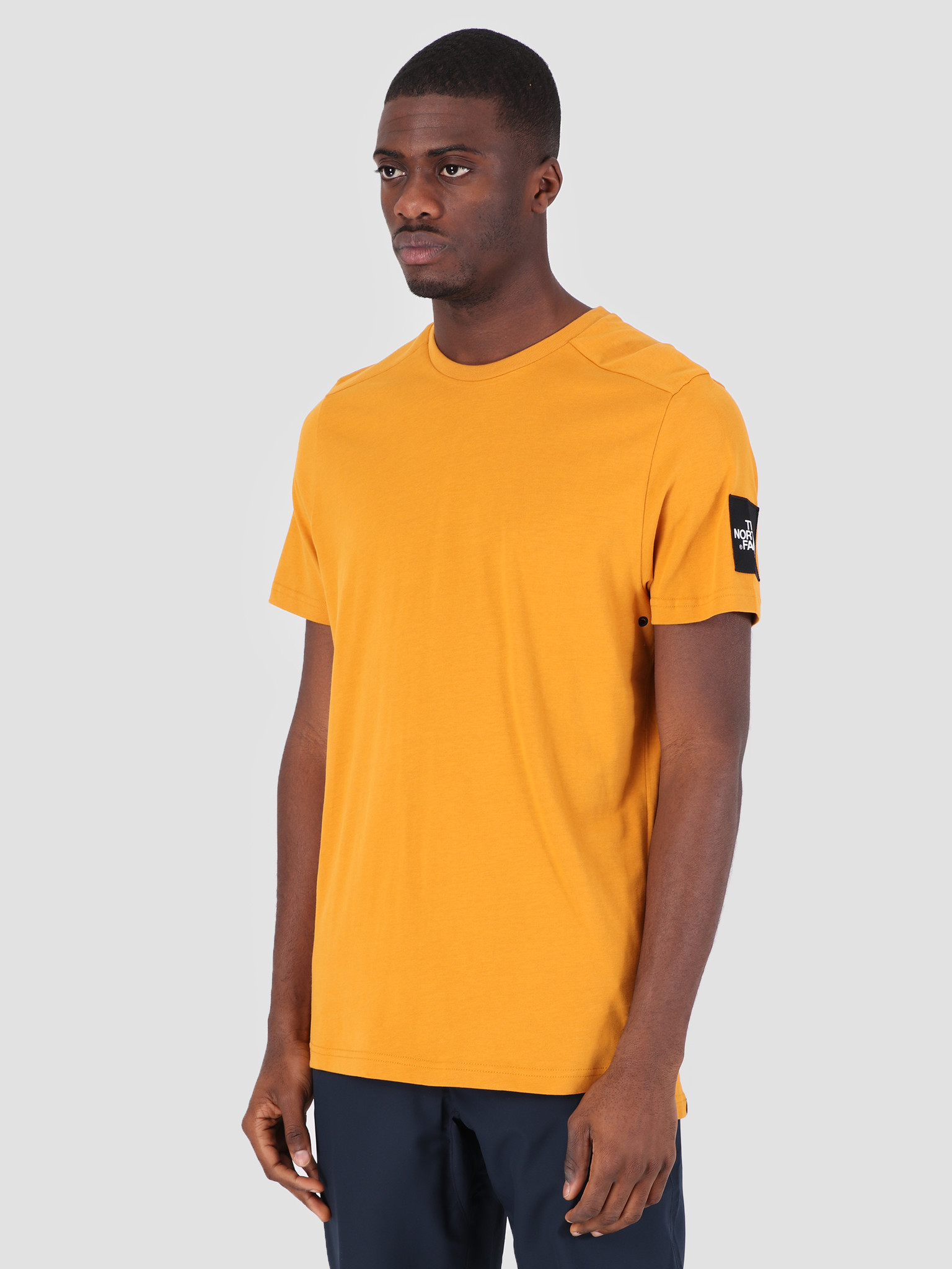 The North Face The North Face Fine 2 T-Shirt Citrine Yellow T93BP7HBX