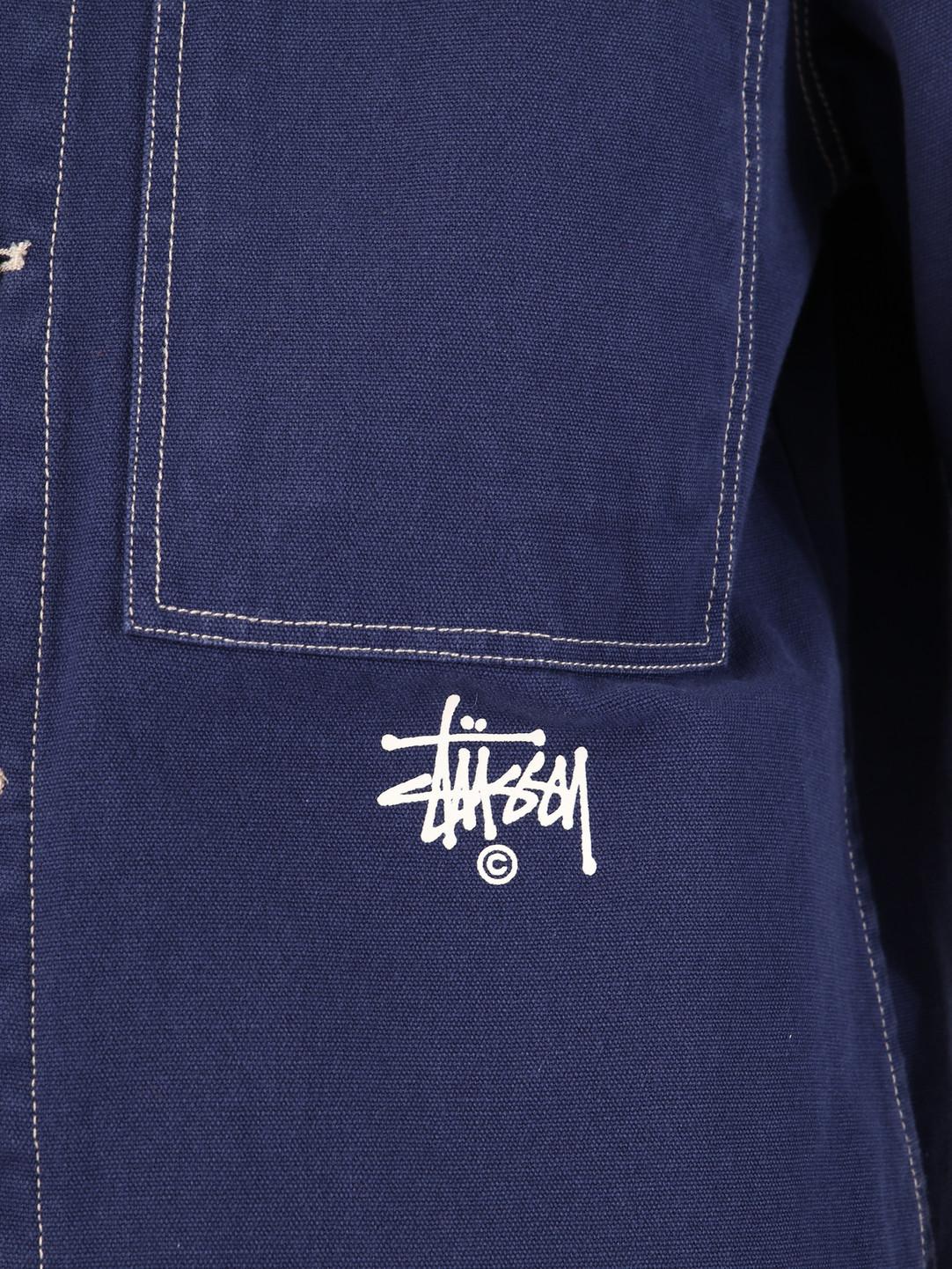 Stussy Stussy Canvas Shop Jacket Navy 0806