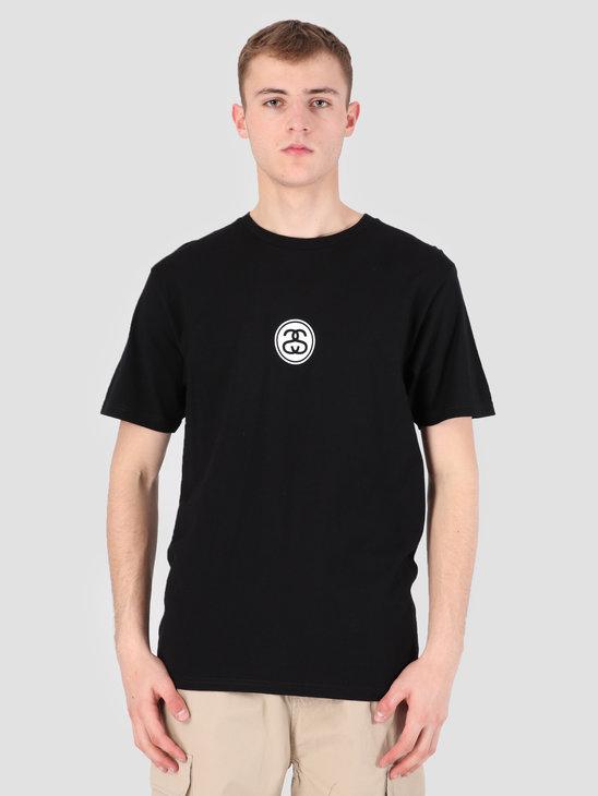 Stussy Link T-Shirt Black 0001