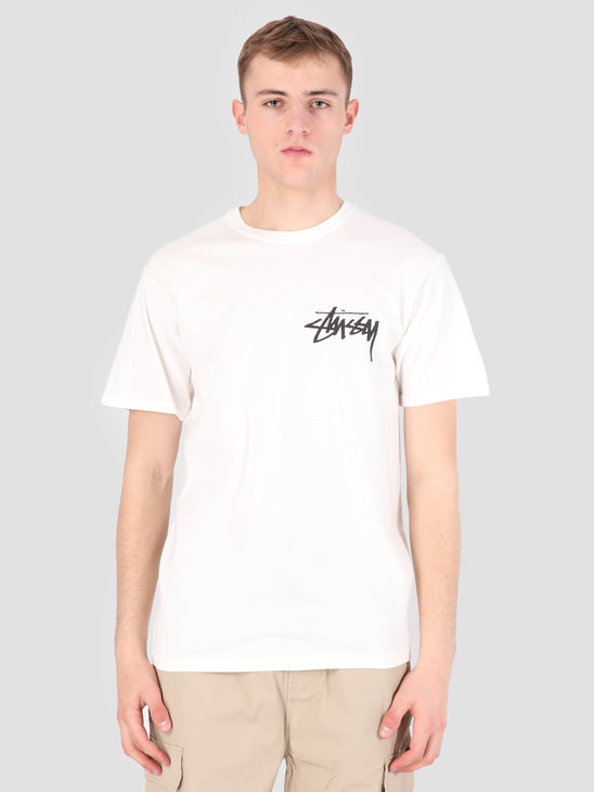 Stussy Stock Pig. Dyed T-Shirt Natural 1002