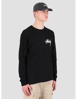 Stussy Stussy Stock Longsleeve T-Shirt Black 0001