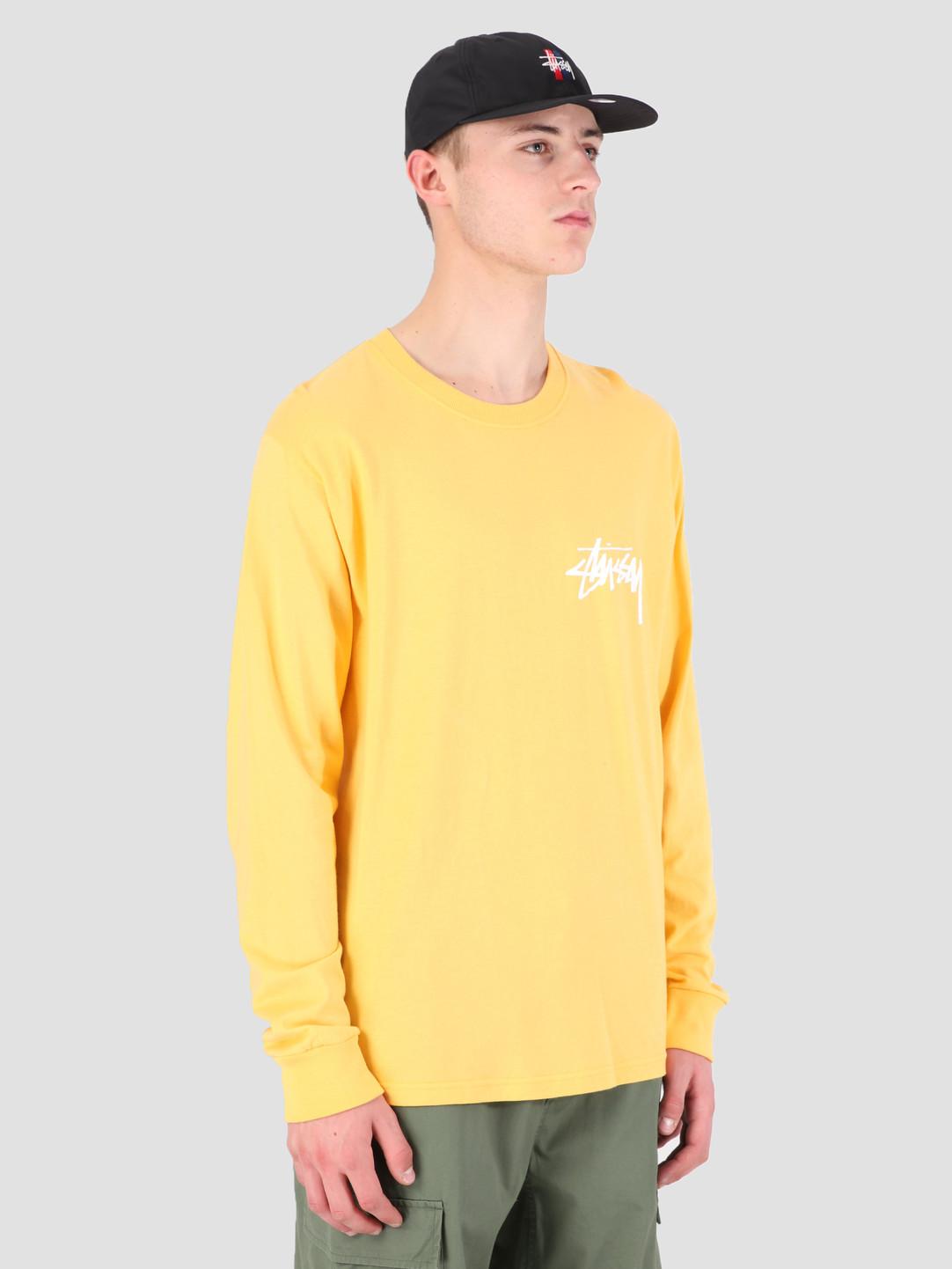 Stussy Stussy Stock Longsleeve T-Shirt Orange 0602