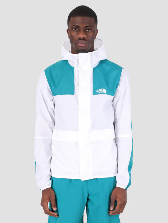 The North Face 1985 Mountain Jacket TNFwht Crystltl T0CH37AVG