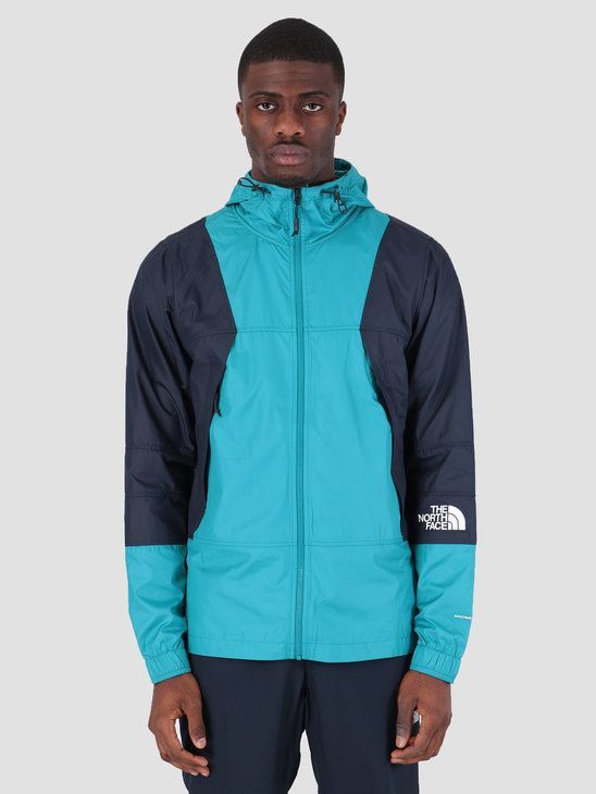 The North Face Mnt Lht Windsh Jacket Crystal Teal T93RYS8EE