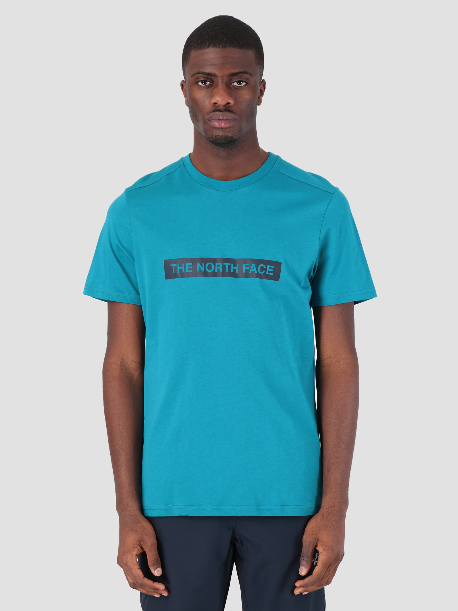 The North Face The North Face Light T-Shirt Crystal Teal T93S3O8EE