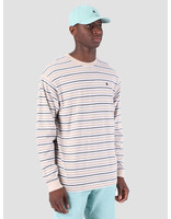 Carhartt WIP Carhartt WIP Long Sleeve Huron Shirt Huron Stripe Boulder Black 61091000