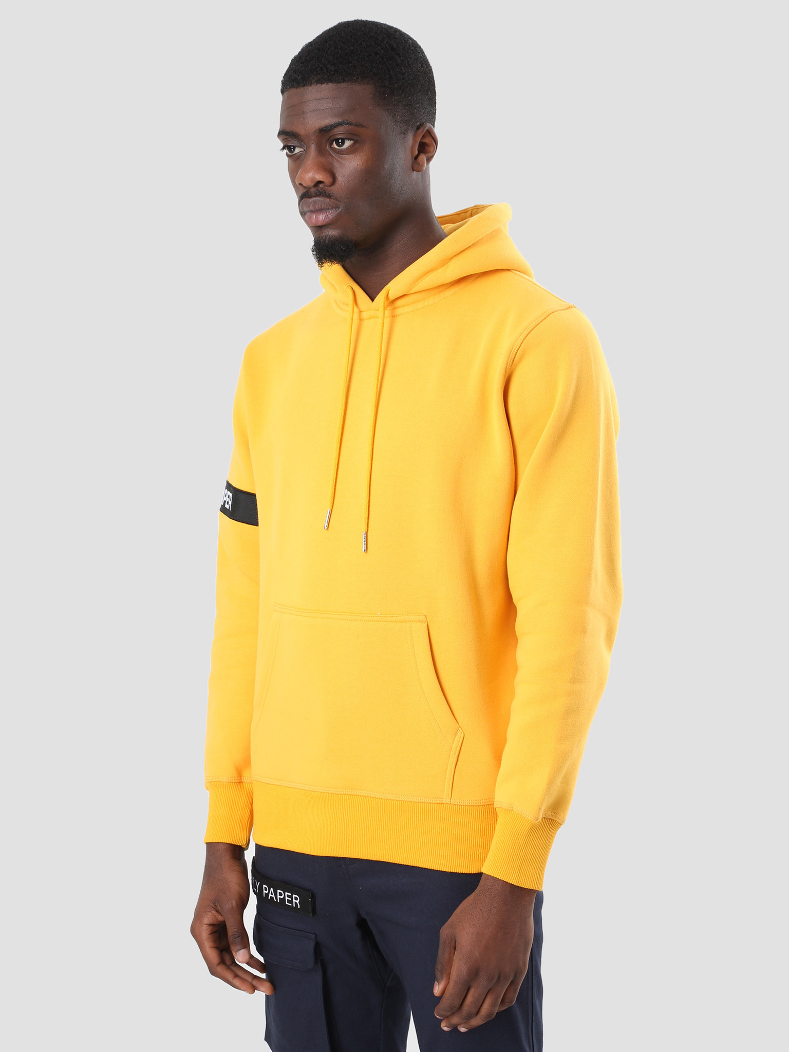 Daily Paper Daily Paper Captain Hoodie Yellow NOST36