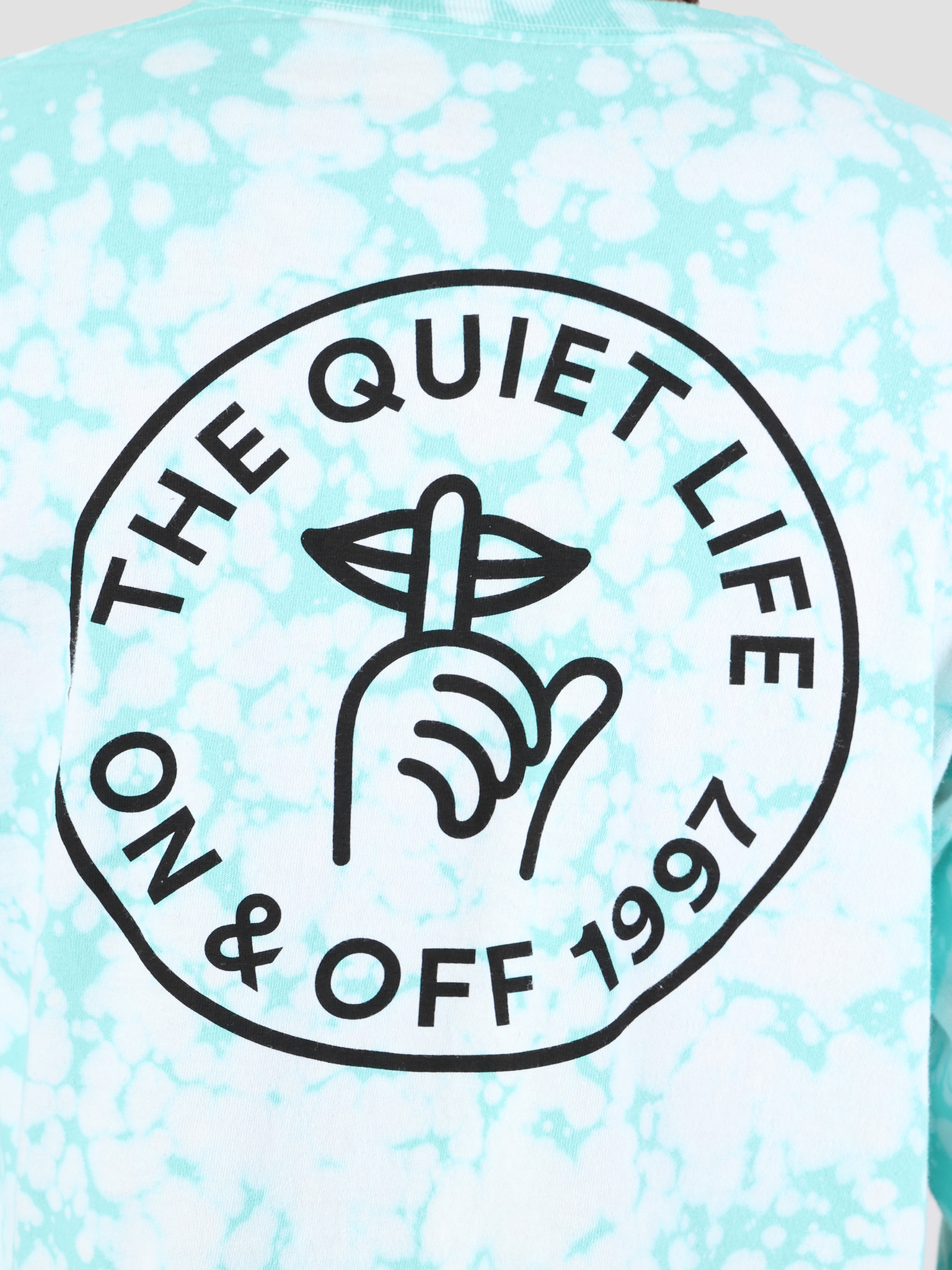 The Quiet Life The Quiet Life Shhh Circle Long Sleeve Green Wash 19SPD1-1153-WASH