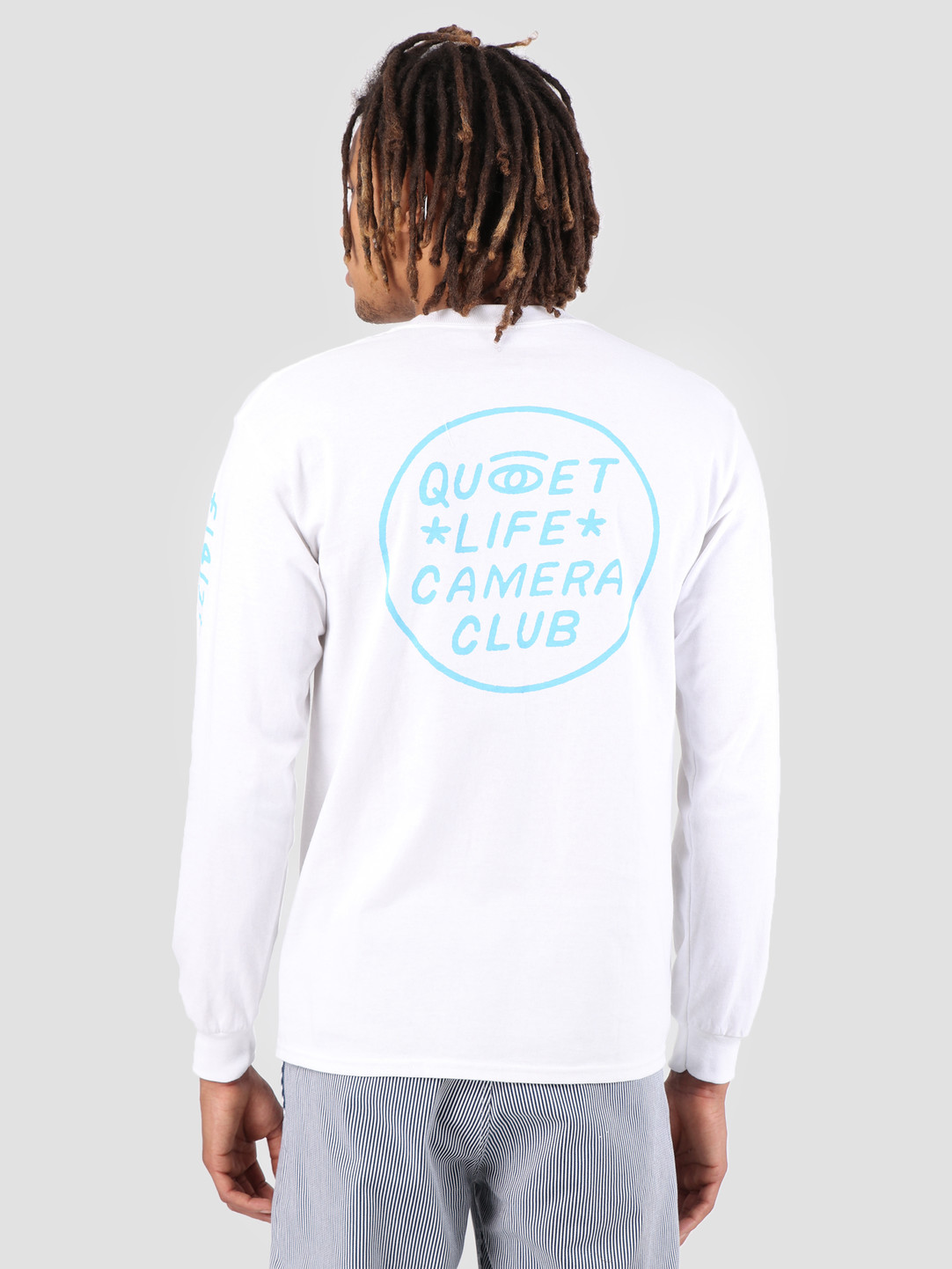 The Quiet Life The Quiet Life Camera Club Eye Long Sleeve White 19SPD1-1147-WHT