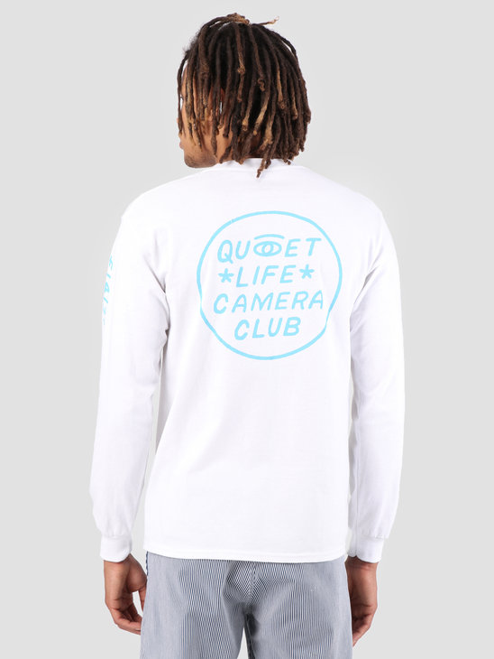 The Quiet Life Camera Club Eye Long Sleeve White 19SPD1-1147-WHT