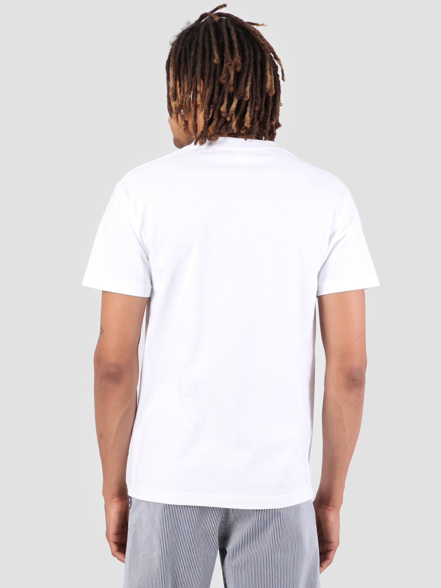 The Quiet Life The Quiet Life Yawn Plant T-Shirt White 19SPD1-1189-WHT