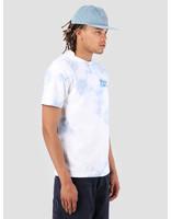 The Quiet Life The Quiet Life Grid T-Shirt Blue Wash 19SPD1-1156-WASH