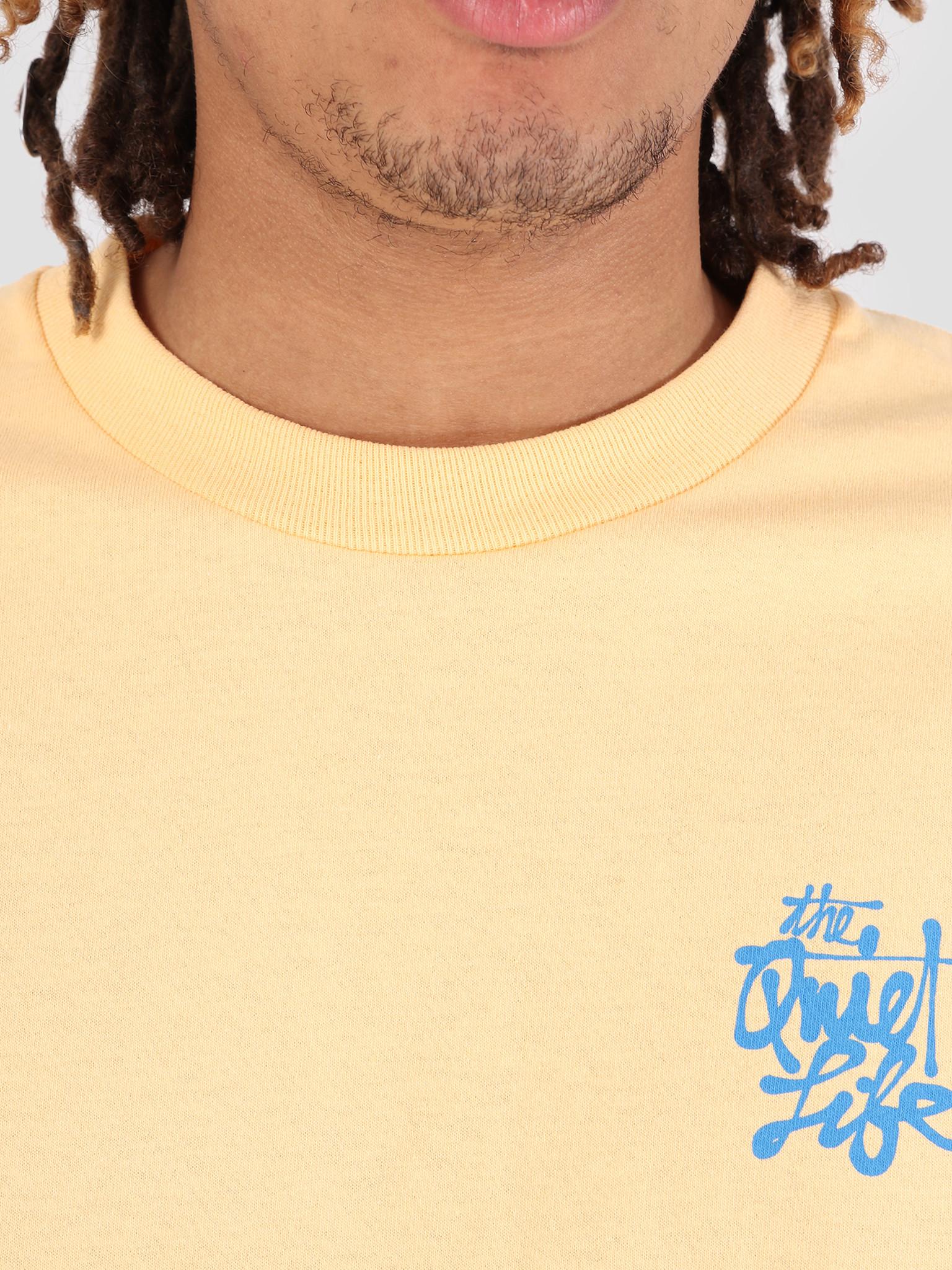 The Quiet Life The Quiet Life Cody Script T-Shirt Squash 19SPD1-1162-SQU