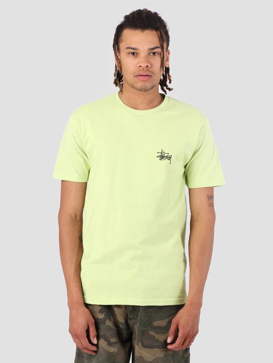Stussy Basic Stussy T-Shirt Pale Green 0453