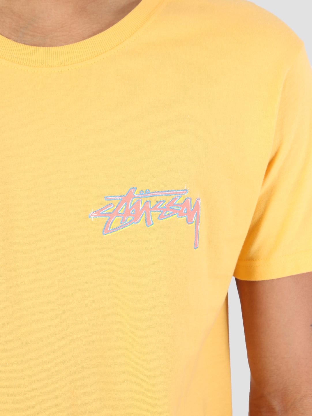 Stussy Stussy Oasis T-Shirt Orange 0602