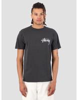 Stussy Stussy Stock Pig. Dyed T-Shirt Black 0001