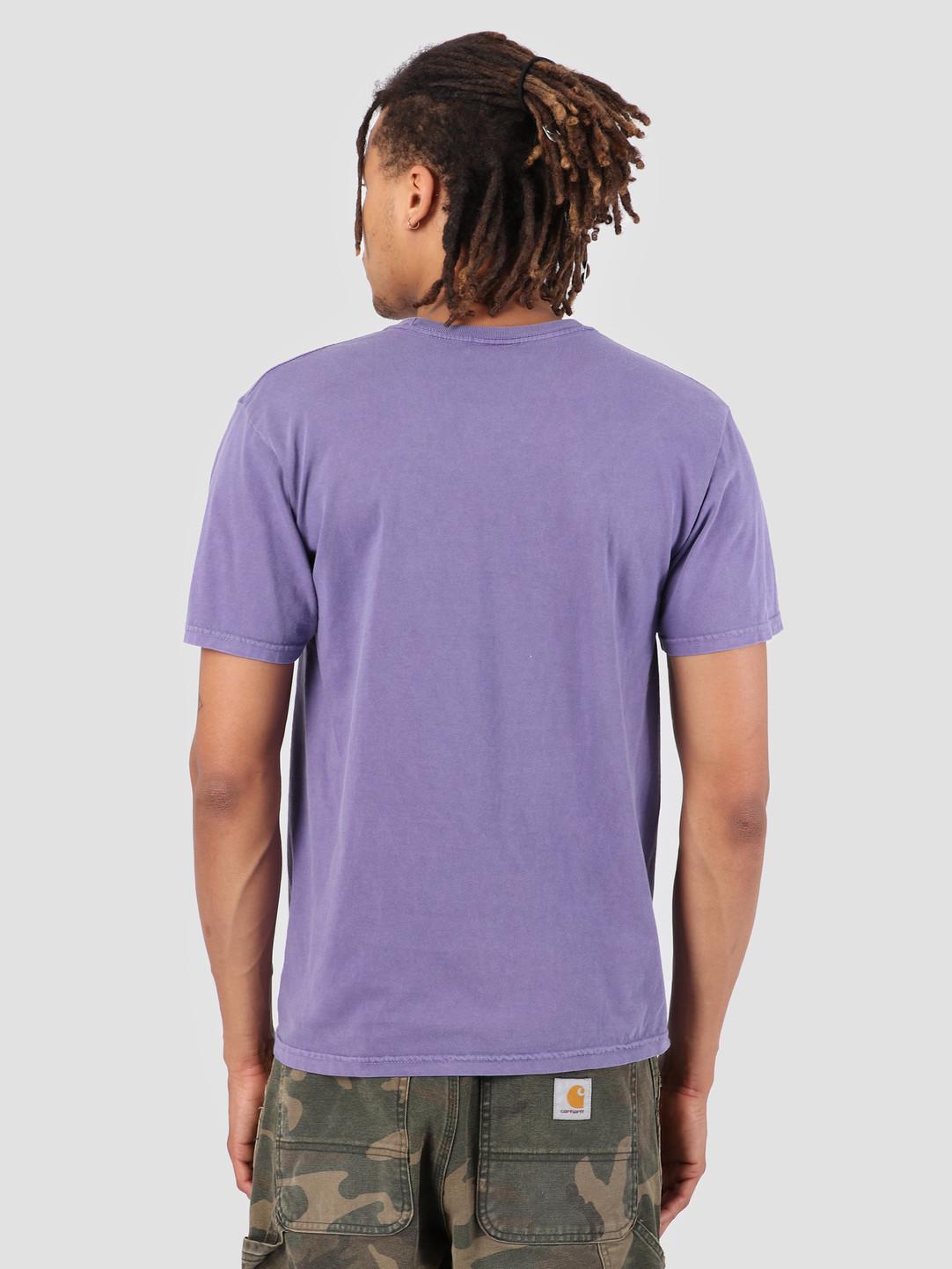 Stussy Stussy Stock Pig. Dyed T-Shirt Purple 0809