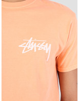 Stussy Stussy Stock Pig. Dyed T-Shirt Coral 0607
