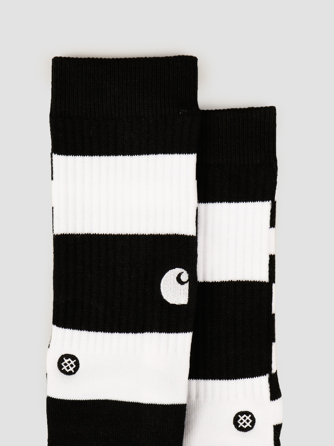 Carhartt WIP Carhartt WIP X Stance Barkley Socks Stripe Black White I027803