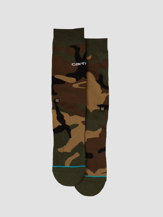 Carhartt WIP X Stance Camo Laurel Socks I027800