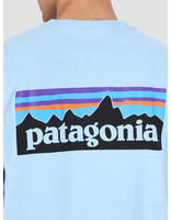 Patagonia Patagonia P 6 Logo Pocket Responsibili T-Shirt Break Up Blue 39178