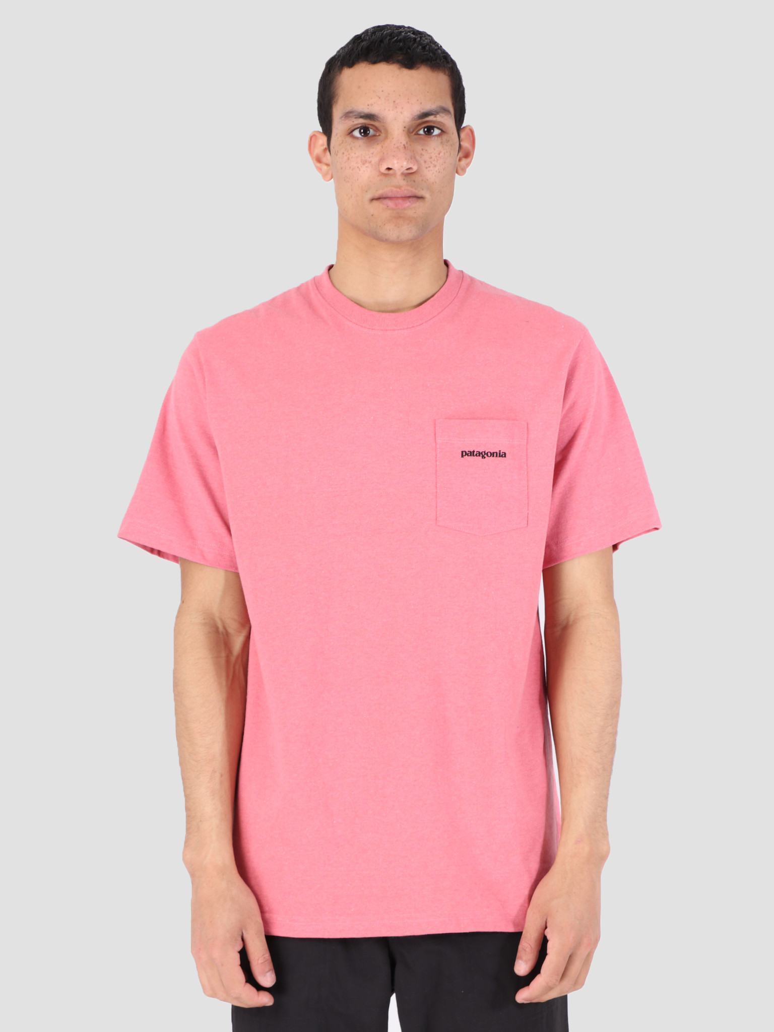 Patagonia Patagonia P 6 Logo Pocket Responsibili T-Shirt Sticker Pink 39178