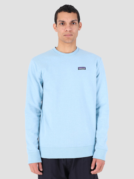 Patagonia P 6 Label Uprisal Crew Sweatshirt Break Up Blue 39543