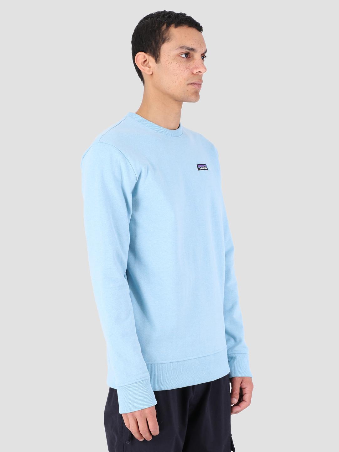 Patagonia Patagonia P 6 Label Uprisal Crew Sweatshirt Break Up Blue 39543