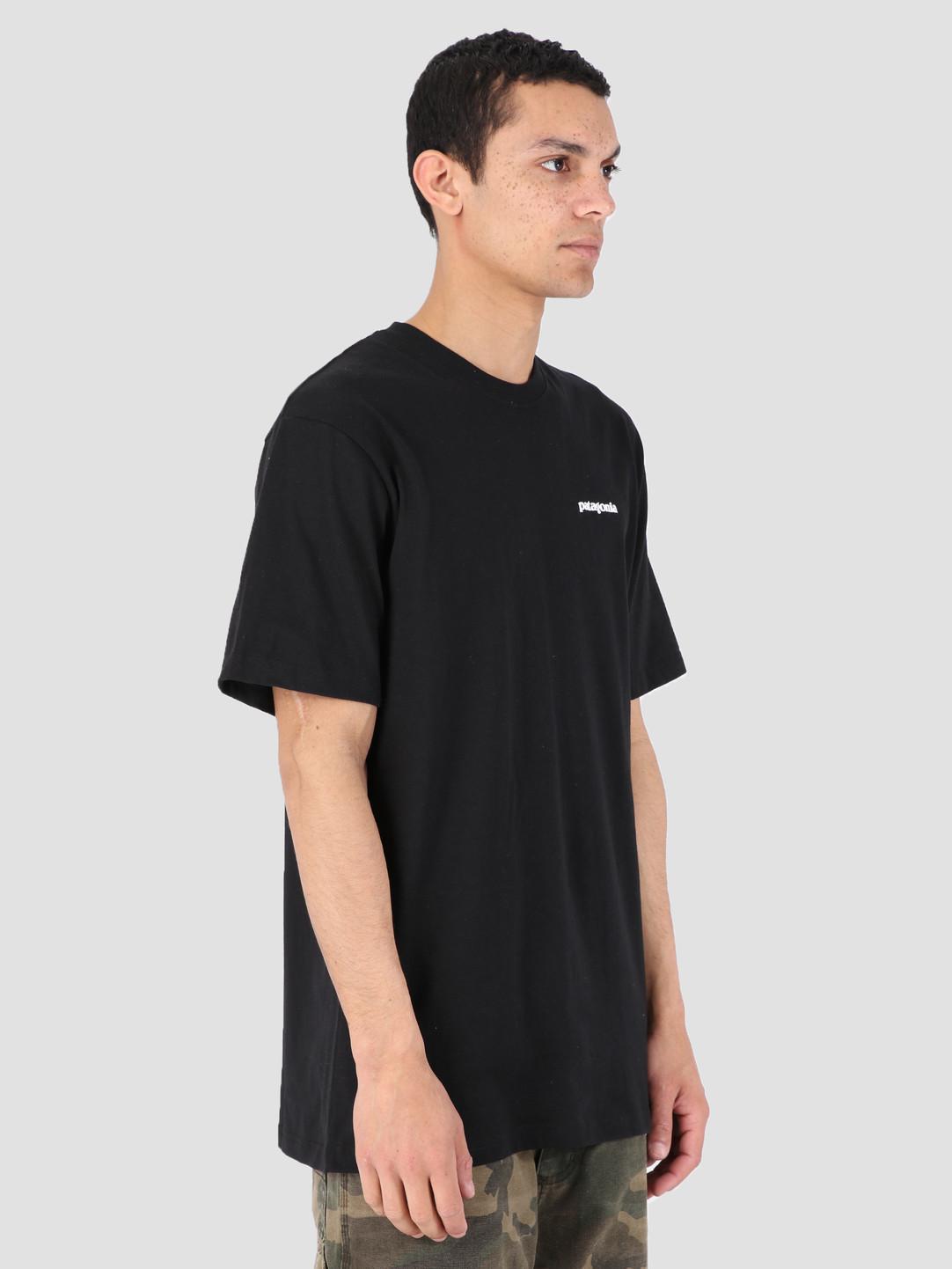 Patagonia Patagonia P-6 Logo Responsibili T-Shirt Black 39174