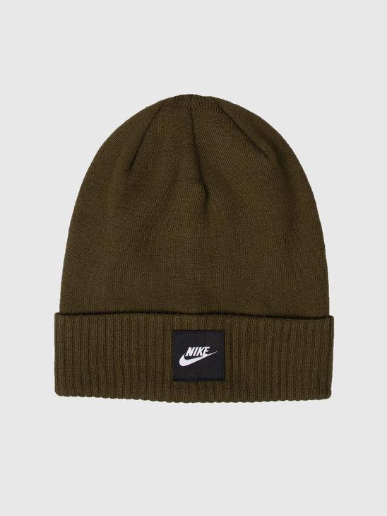 Nike NK Beanie Futura Olive Canvas  Black 803732-395