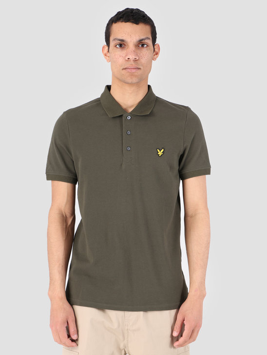 Lyle and Scott Polo Shirt 028 Dark Sage SP400VB