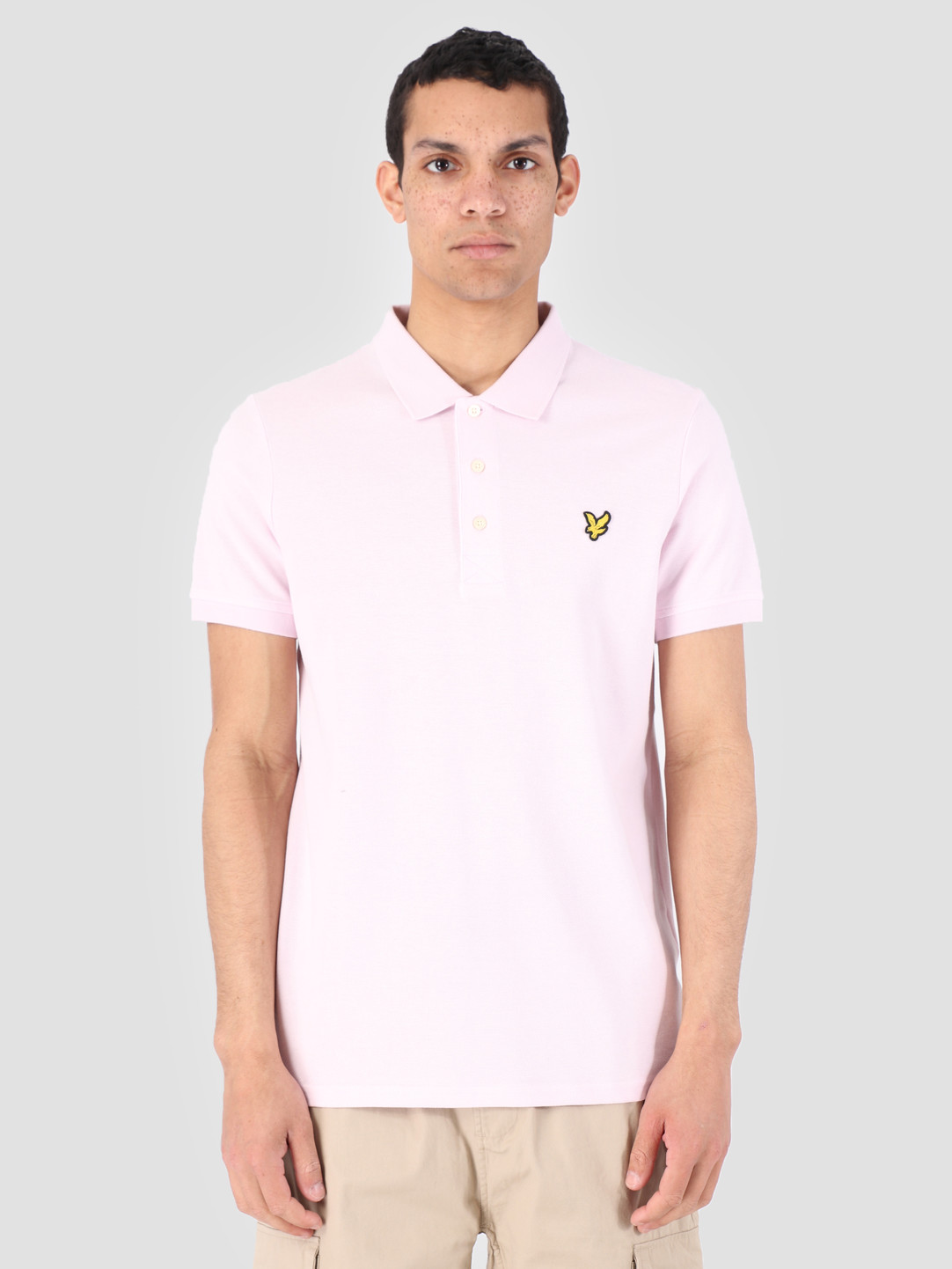 Lyle and Scott Lyle and Scott Polo Shirt Z460 Dusky Lilac SP400VB