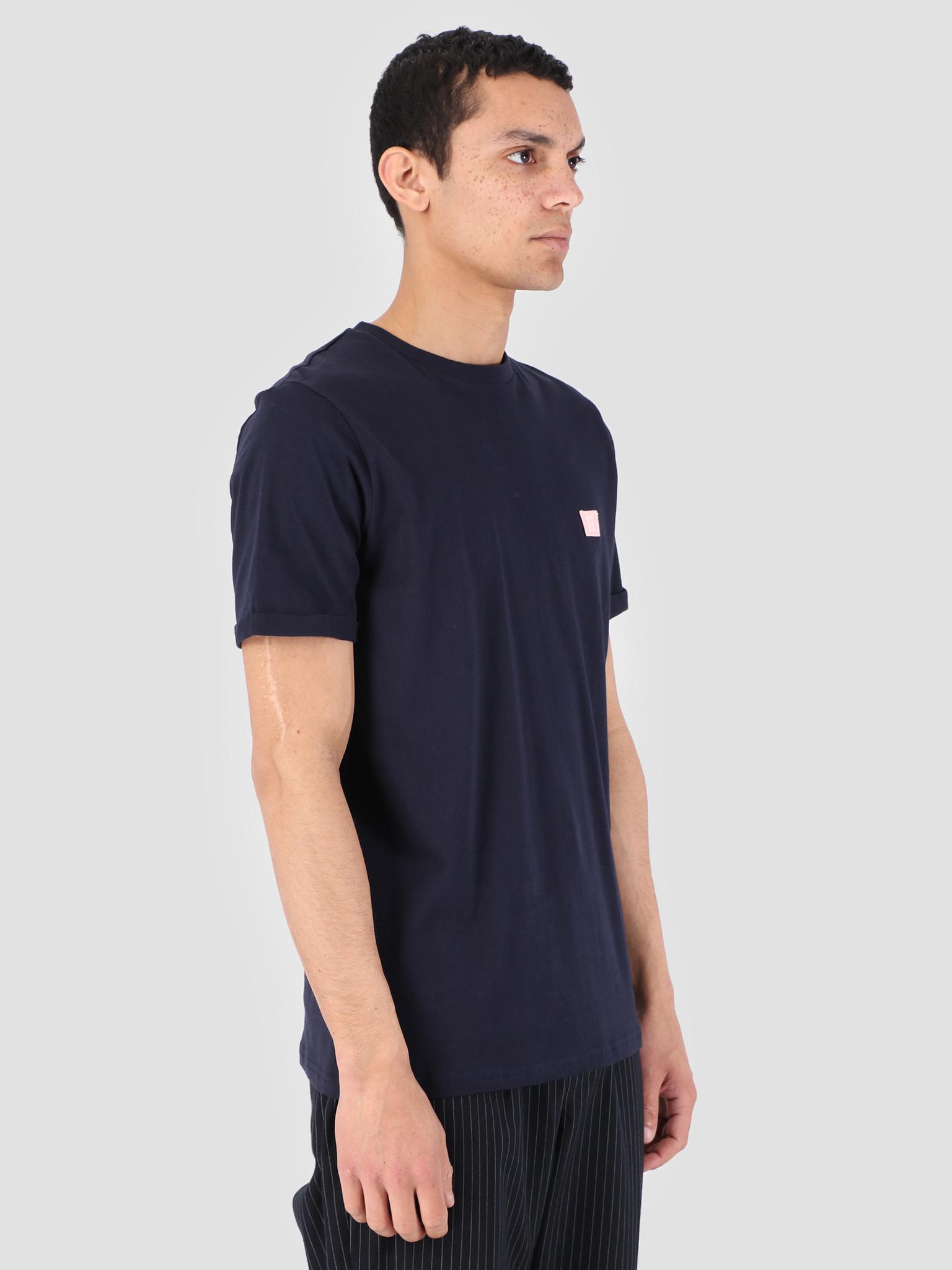 Les Deux Les Deux Piece T-Shirt Dark Navy LDM101034