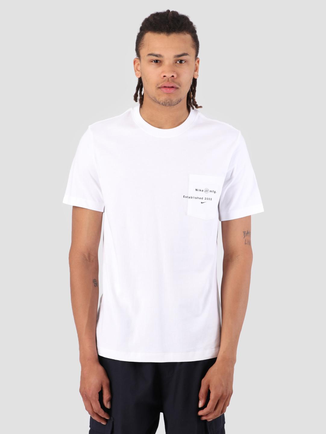 Nike Nike SB T-Shirt Logo Pocket White AQ4511-100