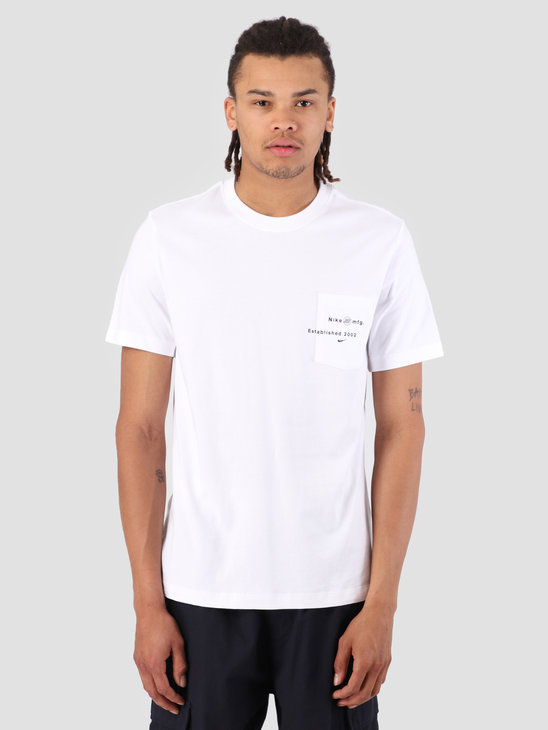Nike SB T-Shirt Logo Pocket White AQ4511-100