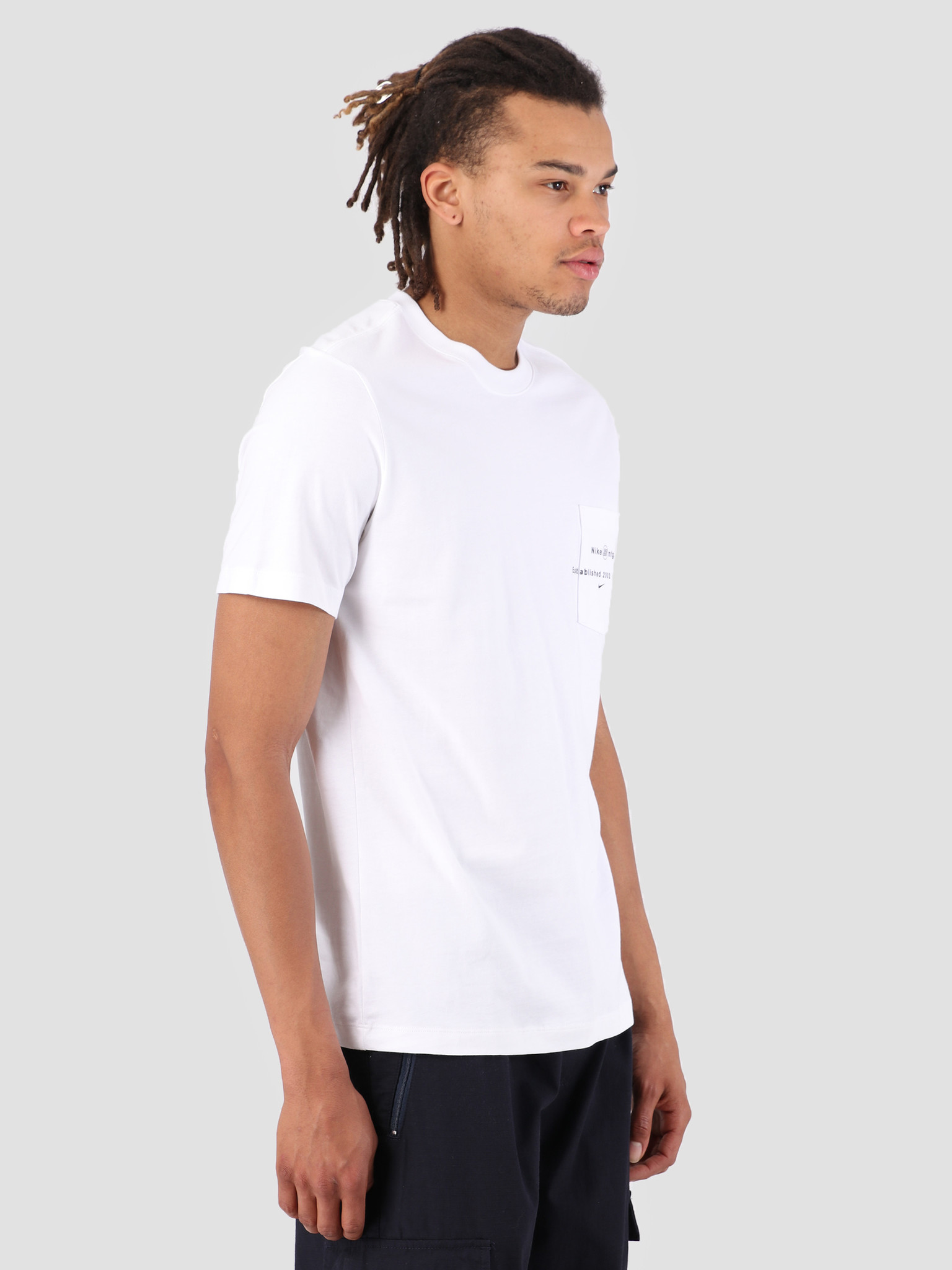 Nike Nike SB T-Shirt Logo Pocket White AQ4511-100
