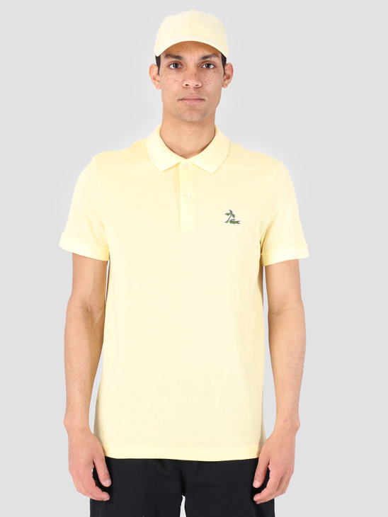 Lacoste 1Hp3 Men'S T-Shirt Polo 03 Napolitan Yellow Ph4258-91