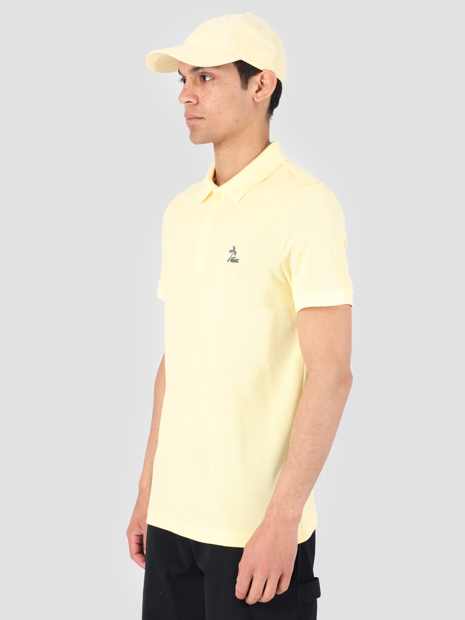 Lacoste Lacoste 1Hp3 Men'S T-Shirt Polo 03 Napolitan Yellow Ph4258-91